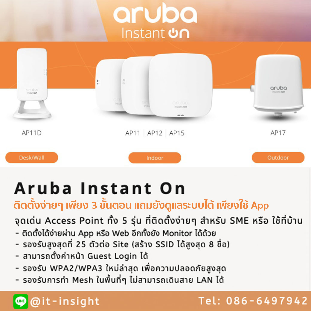 Aruba Instant On AP17 Outdoor (R2X11A)