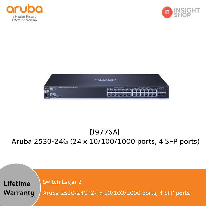 [J9776A] Aruba Switch 2530-24G