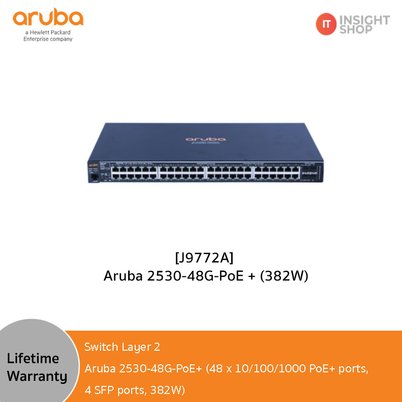 [J9772A] Aruba 2530-48G-PoE+ (382W)