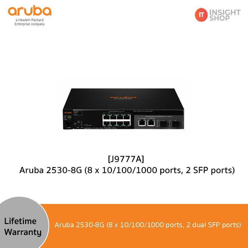 [J9777A] Aruba 2530-8G