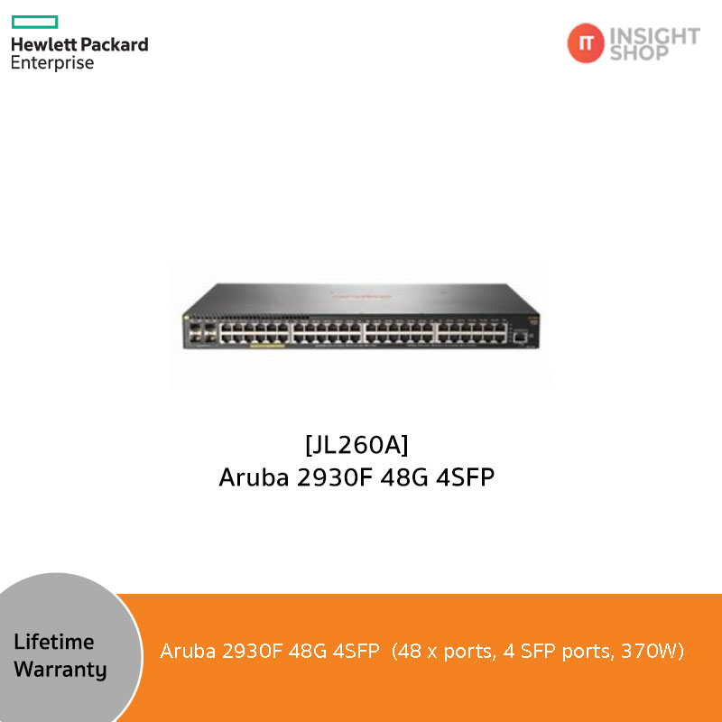 [JL260A] Aruba 2930F 48G 4SFP