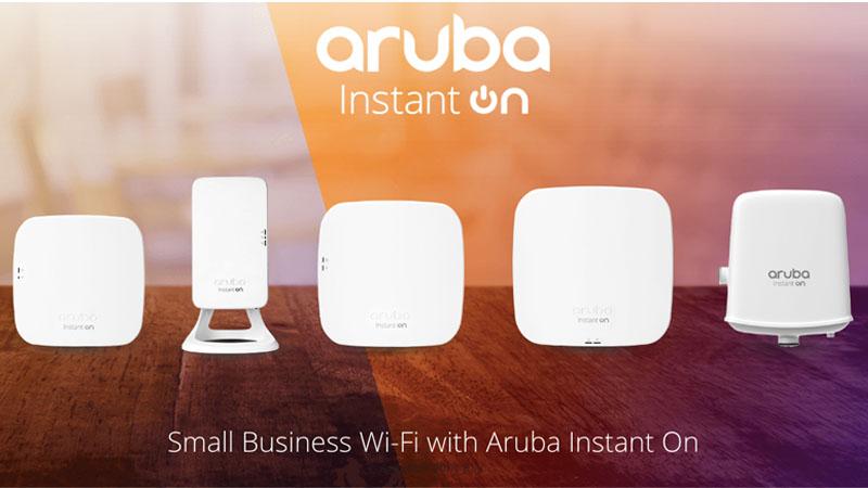 Aruba Instant On สินค้าใหม่ของ Aruba