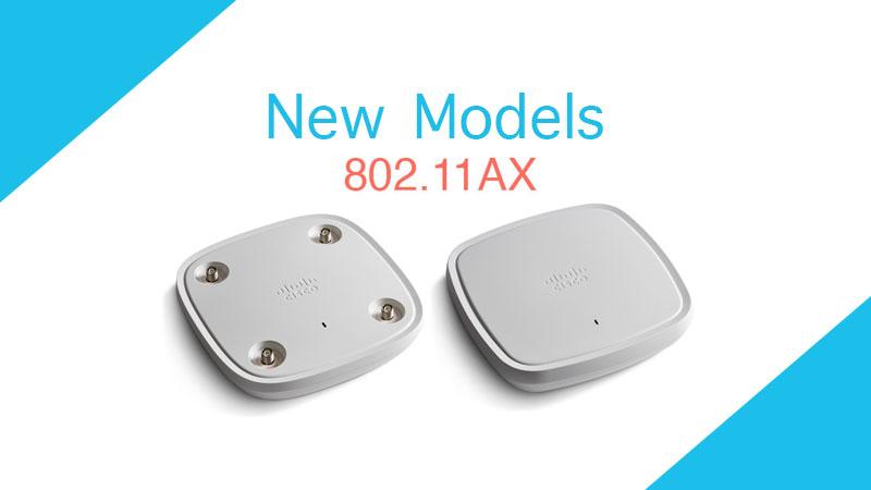 เปิดตัว C9115AX และ C9117AX Wireless Access Point 11AX(Wi-Fi 6)รุ่นใหม่ของ Cisco
