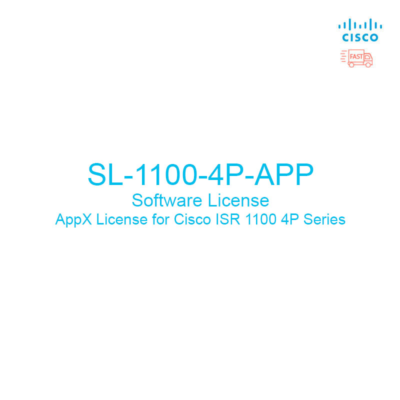 CISCO : SL-1100-4P-APP