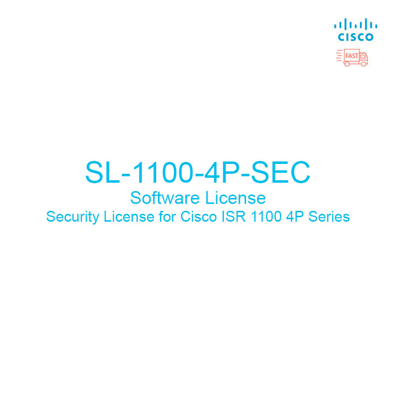 CISCO : SL-1100-4P-SEC